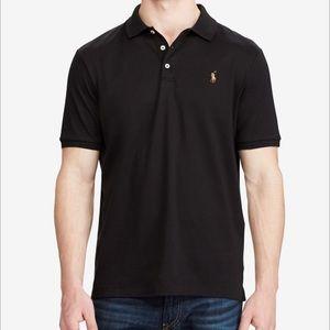 Men's Black Ralph Lauren Classic Fit Polo